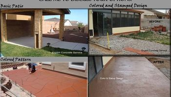 GUARANTEED CONCRETE WORK - CALL TODAY FOR A FREE ESTIMATE!