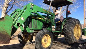 Tractor Work (John Deere tractor)
