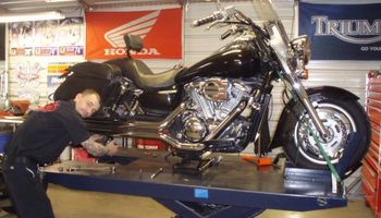 Andys Powersports. Motorcycle Repair