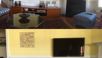 Professional Flatscreen TV Installation