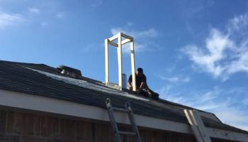Chimney Repair by Juan