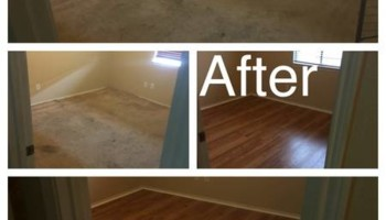 Keller home renovation. Laminate flooring done right