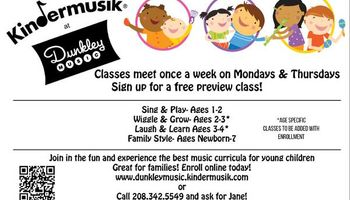 Kindermusik and Disney Classes