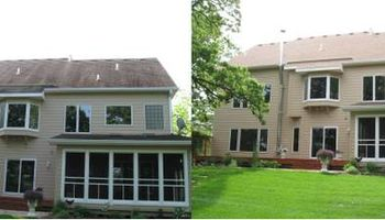Curb Appeal Pros. Roof Cleaning and House Washing