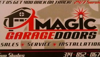Magic Garage door StL. Garagedoor Repair You'll Love -24 hour service