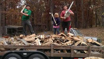 Lawn Maintenance (+selling firewood)