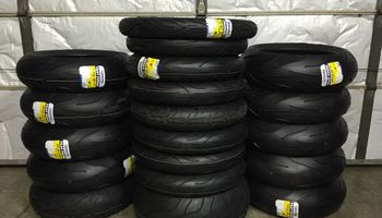 Motorcycle Tire Change Service & More