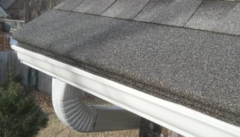 Granulated Gutter Guards. HANDLE EVERY GUTTERING!