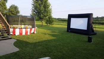 Rent a Video Projector & Screen $75.00 for Movie Night and Slide show