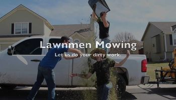 LAWNMEN Mowing, leaf clean up, lawn renovation