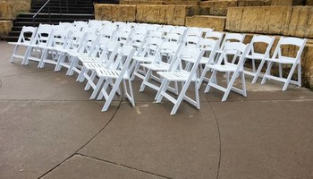Magical Rental - White Wedding Chair Rental