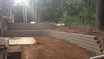 Paver patio's & retaining wall's