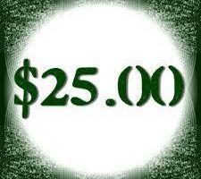 $25 VIRUS REMOVAL