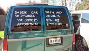 MOBILE CAR WASH & DETAILING.