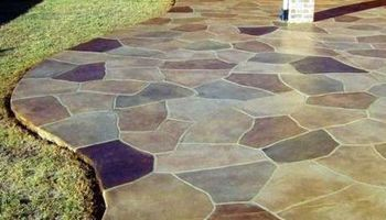 WE PUT WOW INTO CONCRETE, ART STAINED, OVERLAYS,RESEAL, POOL DECK S