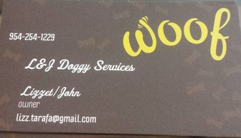 Dog/puppy training services