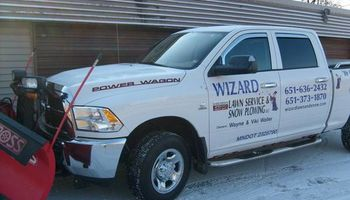 Wizard Lawn Service and Snow Plowing. Lawn Care /  Mowing / Maintenance