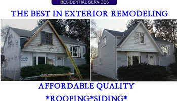 HIGH QUALITY ROOFING SIDING SOFFIT FASCIA & GUTTERS (AMERICAN RESIDENTIAL SERVICES Inc.)