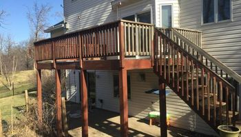 Deck and Fence clean / seal / stain! Call for a free bid today