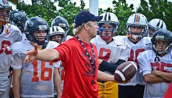 Quarterback & Receiver Instruction. All Ages
