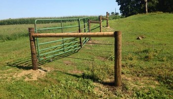 Custom Fencing (farm, boundary fencing)