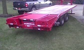 Flat Bed delivery in Minnesota