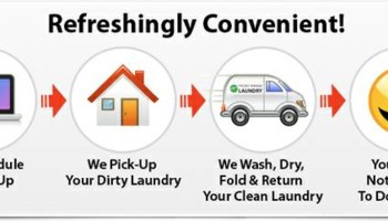 PICK-UP & DELIVERY LAUNDRY SERVICE