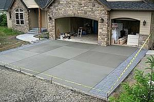 Concrete Work - Driveways - Patios