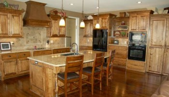 Custom woodwork and cabinets