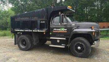 Demolition. Dump truck /skid steer work