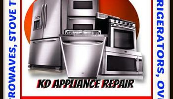 KD Appliance Repair- Big or Small Appliances!!
