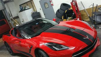 Allstar Autosalon Most deductable are waived Body Shop, Paint