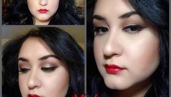 Makeup and hair by Sarah
