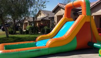 BOUNCE TO THE MAX PARTY RENTALS