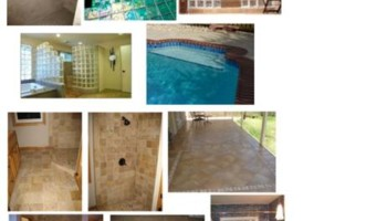 TILE INSTALATION (swimming pool tile)