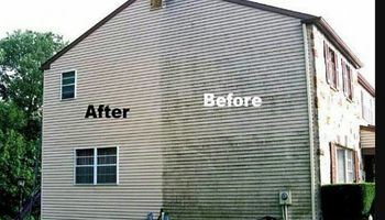 Home PRESSURE WASHING. Just Driveway - $40