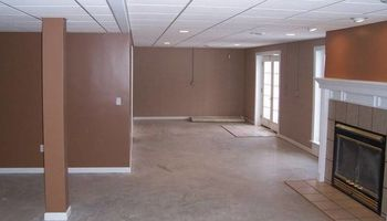 Installing drop ceiling grid and tile system