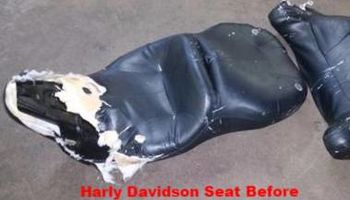 Cool Rides Upholstery- we do cycle seats!