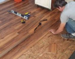 LAMINATE / HARDWOOD. INSTALL-REPAIR, SANDING & HI-GLOSS