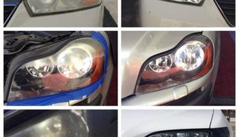 Headlight restoration/cleaning - $25 each/ $50 a pair