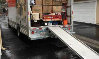 John's moving and hauling services with fullsize pick up truck
