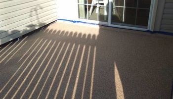 Garage and basement floor coating