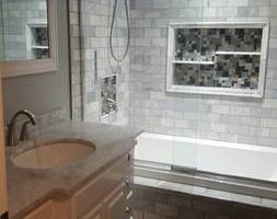 True Construction LLC. TILE SETTER, FLOORING, BATHROOMS SURROUNDS