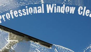Professional window and gutter cleaning by Jeremy