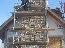 Masonry/stone work by B&K constraction, llc