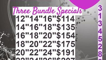 JKA's Effulgent Hair. PROM SPECIALS! Bundles starting at $25+