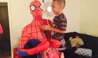 Call YOUTH OVER EVERYTHING LLC! Spiderman $25/hour!