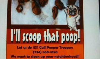 Pooper Troopers animal waste removal. Lucas County