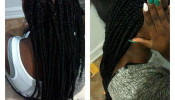 Braids $100/sewins $75 Appointments available