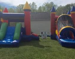 Combo Bounce House With Water Slide!!!!
